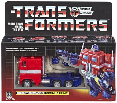Transformers Gen 1 2018 Reissue Optimus Prime Exclusive Action Figure [Autobot Commander]