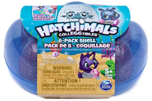 Hatchimals Colleggtibles Season 5 Mermal Magic Shell Mystery 6-Pack [RANDOM Color!]
