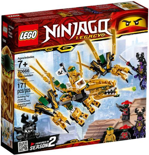 LEGO Ninjago Legacy The Golden Dragon Set #70666