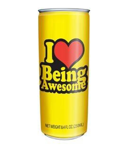 I Heart Being Awesome Energy Drink
