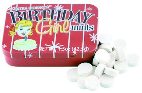 Fun Mints Birthday Girl Mints Candy Tin