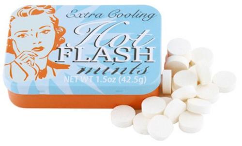 Fun Mints Hot Flash Mints Candy Tin [Extra Cooling]