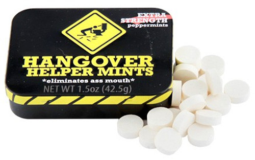 Fun Mints Hangover Helper Mints Candy Tin