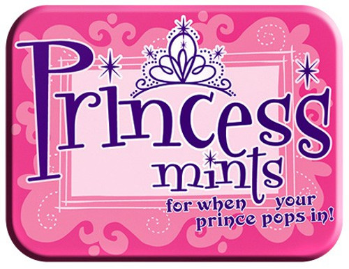 Fun Mints Princess Mints Candy Tin