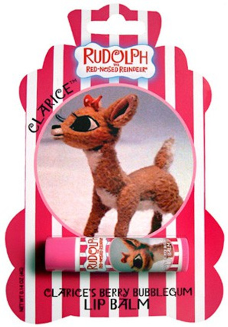 Rudolph the Red-Nosed Reindeer Clarice's Berry Bubblegum Lip Balm