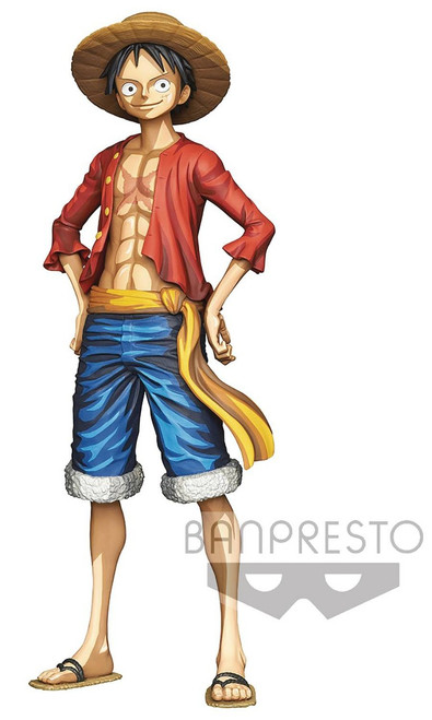 One Piece Manga Dimensions Monkey D. Luffy 10.6-Inch Collectible PVC Grandista Figure