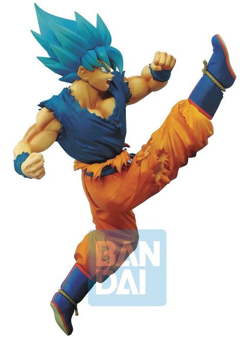 Z-Battle Dragon Ball Z: Buyu Retsuden Super Saiyan Blue Son Goku 6.3-Inch Collectible PVC Figure
