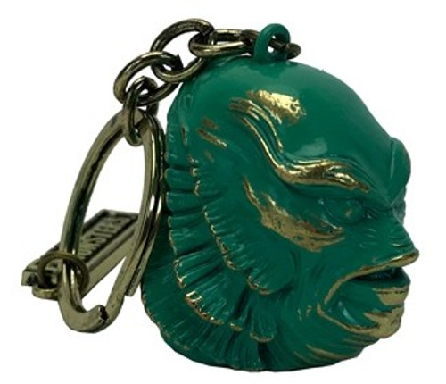 Universal Monsters Creature From The Black Lagoon Head Sculpted Keychain