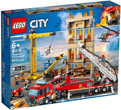 LEGO City Downtown Fire Brigade Set #60216