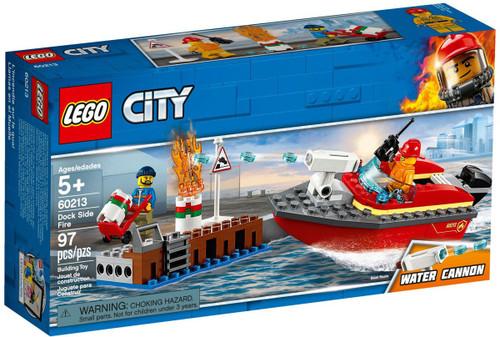 LEGO City Dock Side Fire Set #60213