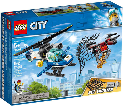 LEGO City Sky Police Drone Chase Set #60207