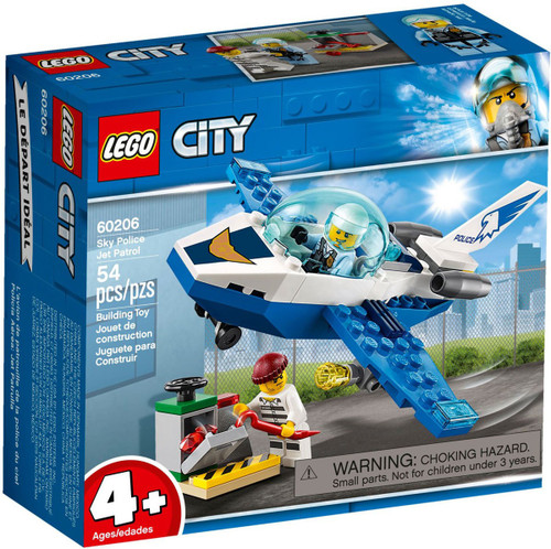 LEGO City Sky Police Jet Patrol Set #60206