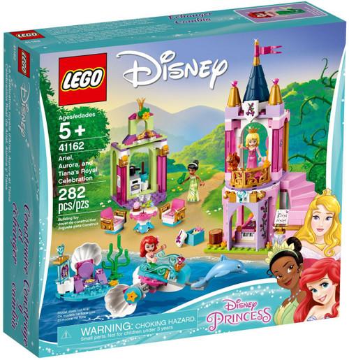LEGO Disney Princess Ariel, Aurora, & Tiana's Royal Celebration Set #41162
