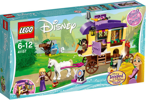LEGO Disney Princess Tangled The Series Rapunzel's Traveling Caravan Set #41157