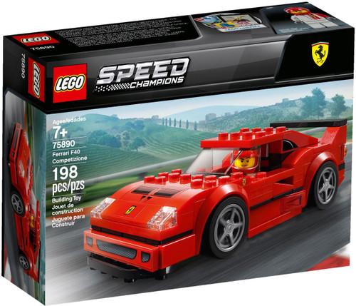 LEGO Speed Champions Ferrari F40 Competizione Set #75890