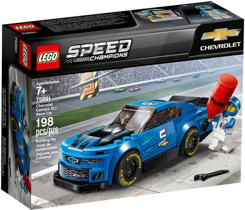 LEGO Speed Champions Chevrolet Camaro ZL1 Race Car Set #75891