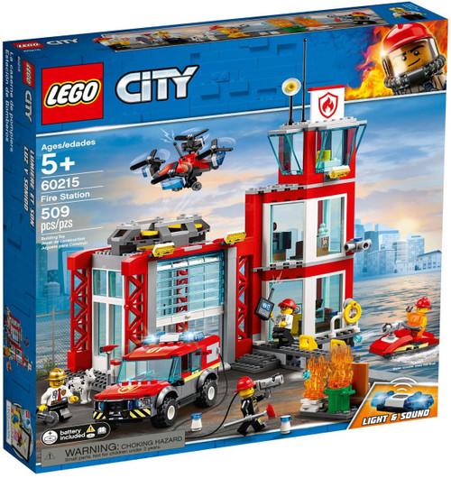 LEGO City Fire Station Set #60215