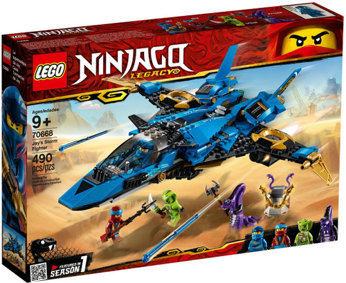 LEGO Ninjago Legacy Jay's Storm Fighter Set #70668