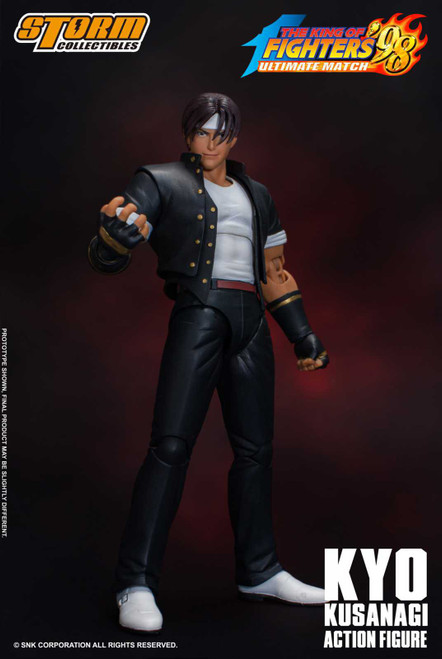 King of Fighters 98 Kyo Kusanagi Action Figure