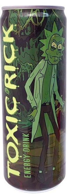 Rick & Morty Toxic Rick 12 Ounce Energy Drink