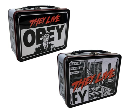 "They Live ""Obey"" Tin Tote Lunch Box"