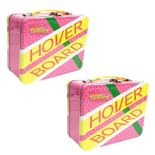 Back to the Future Hoverboard Tin Tote Lunch Box