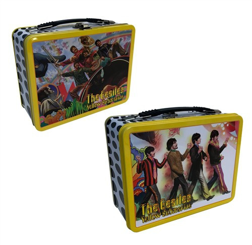 The Beatles Alex Ross Yellow Submarine Tin Tote Lunch Box