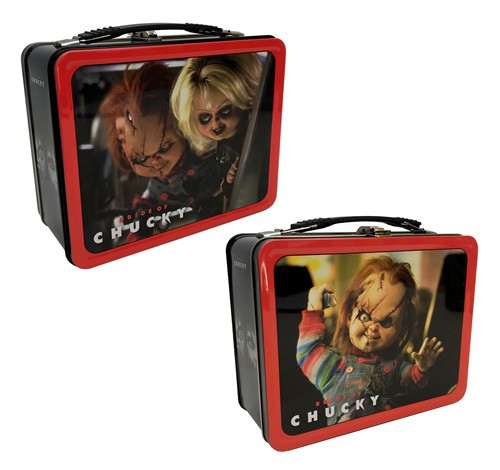 Child's Play Bride of Chucky Tin Tote Lunch Box