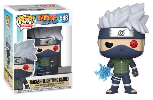 Funko Naruto POP! Anime Kakashi Exclusive Vinyl Figure #548 [Lightning Blade]
