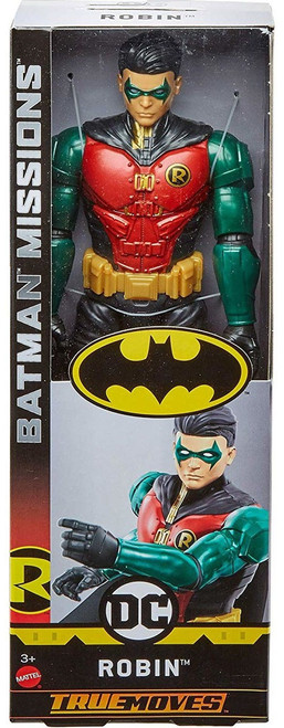 DC Batman Missions Robin Action Figure [True Moves]