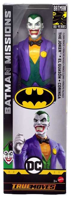 DC Batman Missions The Joker (Clown Prince) Action Figure [True Moves]