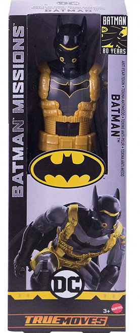 DC Batman Missions Batman Action Figure [Anti Fear Toxin]