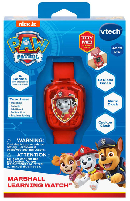Paw Patrol Marshall Learning Watch