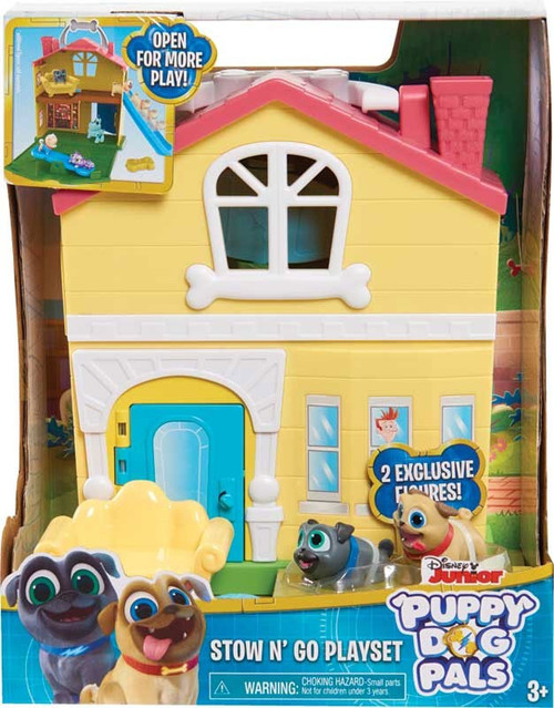 Disney Junior Puppy Dog Pals Stow N' Go Playset Playset