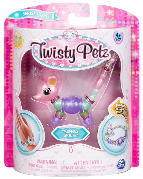 Twisty Petz Muffins Mouse Bracelet