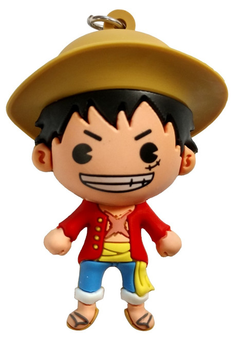 One Piece 3D Figural Keyring Monkey D Luffy Mystery Minifigure [Loose]