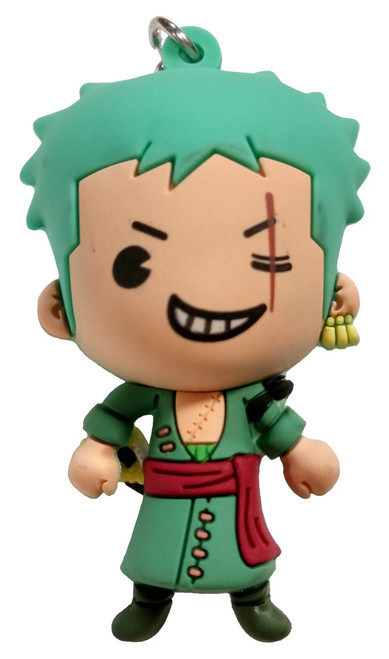 One Piece 3D Figural Keyring Series 1 Roronoa Zoro Mystery Minifigure [Loose]