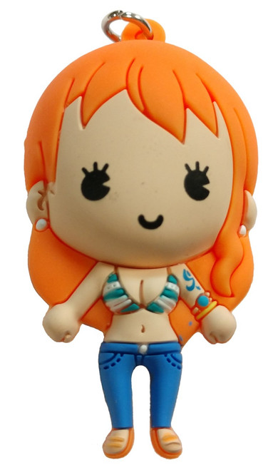One Piece 3D Figural Keyring Series 1 Nami Mystery Minifigure [Loose]