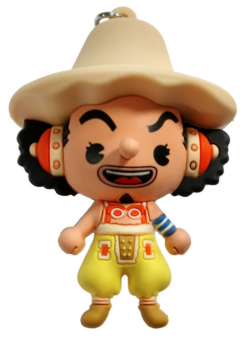 One Piece 3D Figural Keyring Series 1 Usopp Mystery Minifigure [Loose]