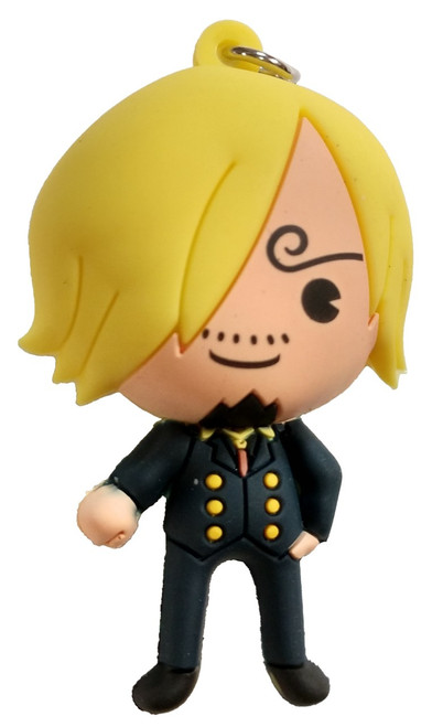 One Piece 3D Figural Keyring Sanji Mystery Minifigure [Loose]