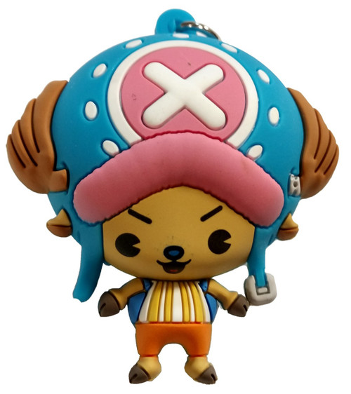 One Piece 3D Figural Keyring Series 1 Tony Tony Chopper Mystery Minifigure [Loose]