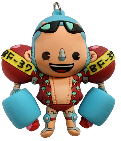 One Piece 3D Figural Keyring Series 1 Franky Mystery Minifigure [Loose]