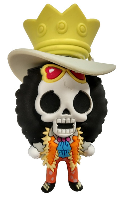 One Piece 3D Figural Keyring Series 1 Brook Mystery Minifigure [Loose]