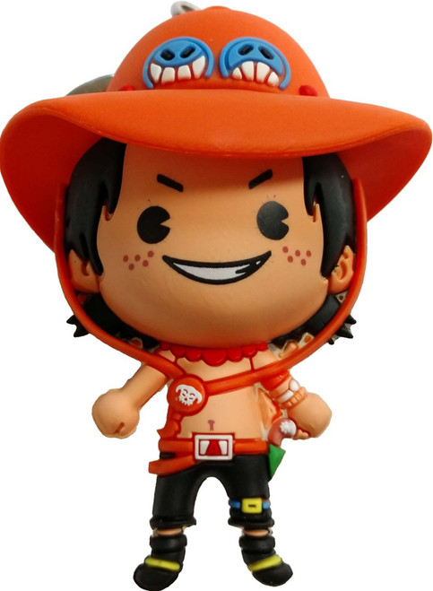 One Piece 3D Figural Keyring Ace Mystery Minifigure [Loose]