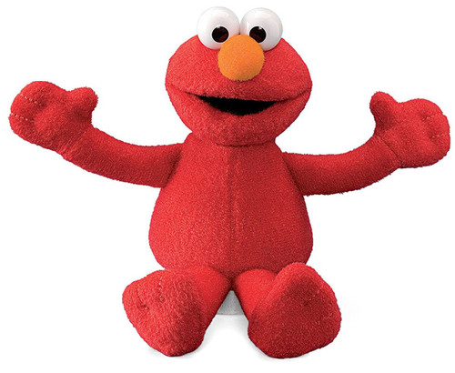 Sesame Street Elmo 7-Inch Beanbag Plush
