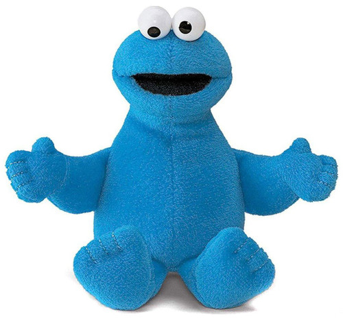 Sesame Street Cookie Monster 6.5-Inch Beanbag Plush