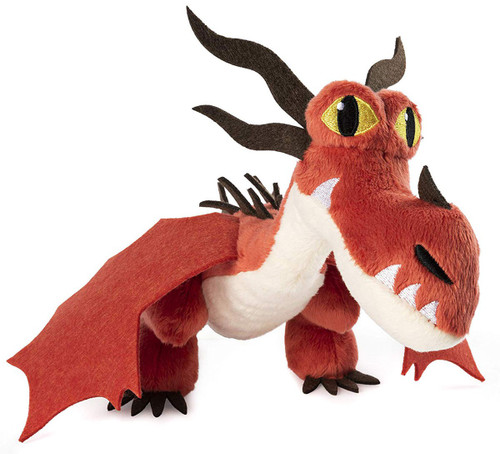 How to Train Your Dragon The Hidden World Hookfang 8-Inch Plush