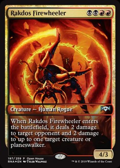 MtG Promo Cards Promo Rakdos Firewheeler [Ravnica Allegiance Open House]