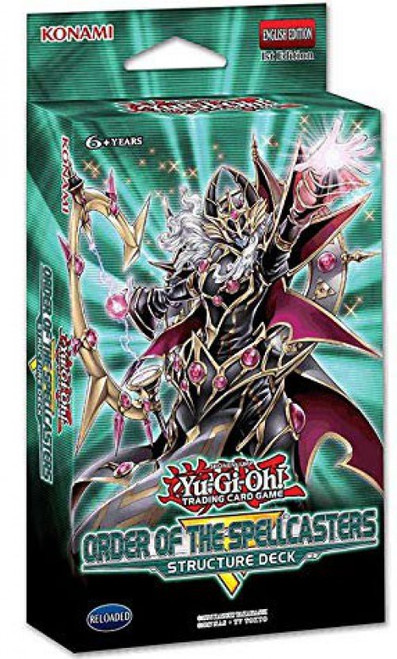YuGiOh Trading Card Game Order of the Spellcasters Structure Deck