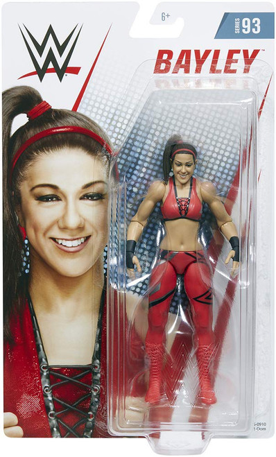 WWE Wrestling Series 93 Bayley Action Figure